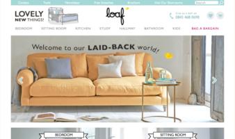 eCommerce website: Loaf