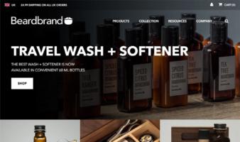 eCommerce website: Beardbrand
