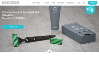 eCommerce website: Boldking