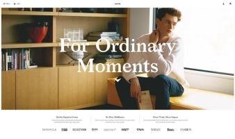 eCommerce website: KOTN