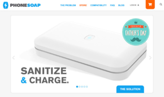 eCommerce website: Phone Soap