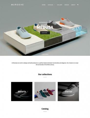 eCommerce website: Muroexe
