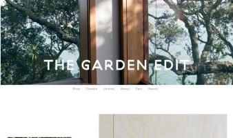 eCommerce website: The Garden Edit
