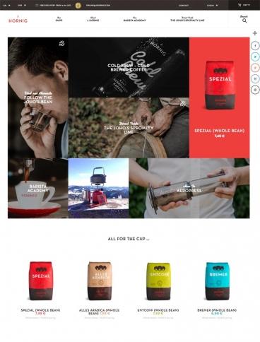 eCommerce website: J. Hornig