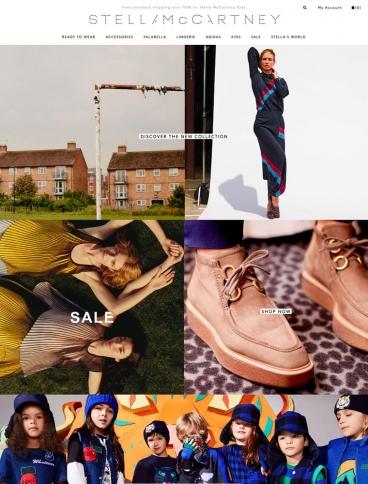 eCommerce website: Stella McCartney