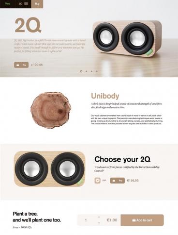 eCommerce website: Vers