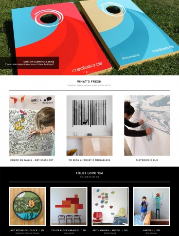eCommerce website: Blik