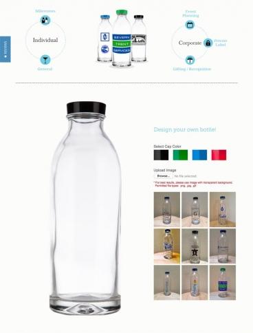 eCommerce website: Faucet Face