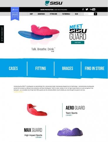eCommerce website: SISU