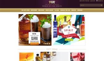 eCommerce website: The Whisky Exchange