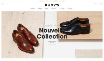 eCommerce website: Rudy's Paris