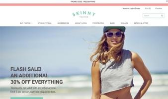 eCommerce website: Skinny Teatox