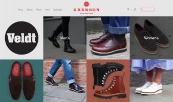 eCommerce website: Grenson