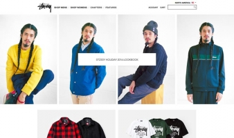 eCommerce website: Stussy