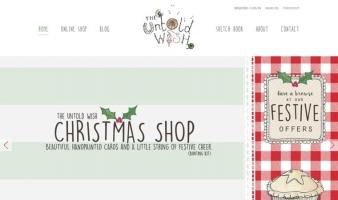 eCommerce website: The Untold Wish