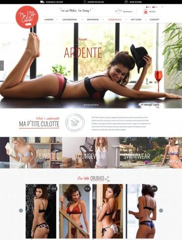 eCommerce website: Ma P'tite Culotte