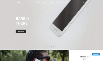 eCommerce website: Peel