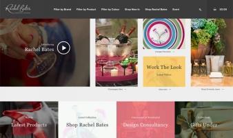 eCommerce website: Rachel Bates