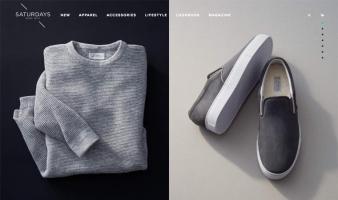 eCommerce website: Saturdays