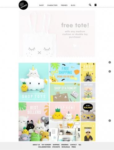 eCommerce website: noodoll