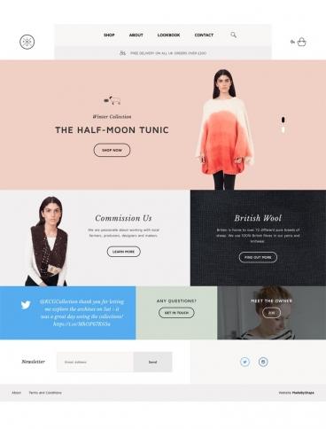 eCommerce website: Flock