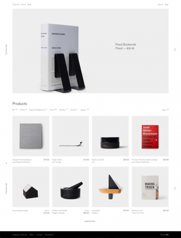 eCommerce website: Formerly Yes
