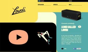 eCommerce website: Lowdi