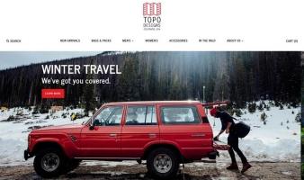 eCommerce website: Topo Designs