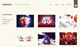 eCommerce website: Branded7