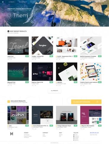 eCommerce website: MarketMe