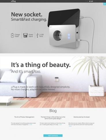 eCommerce website: u:Plug