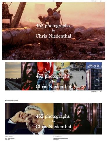 eCommerce website: Chris Niedenthal