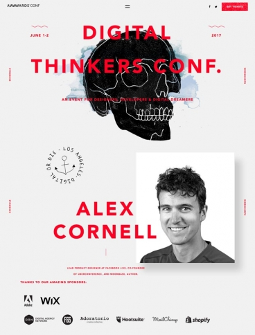 eCommerce website: Digital Thinkers Conf.