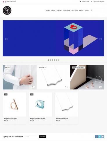 eCommerce website: OFORM