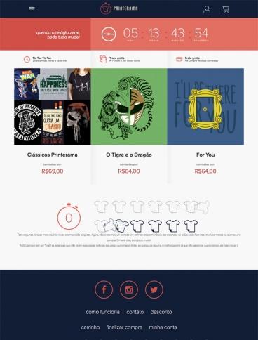 eCommerce website: Printerama
