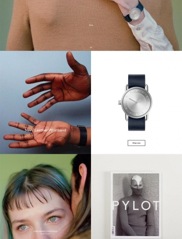 eCommerce website: TID Watches