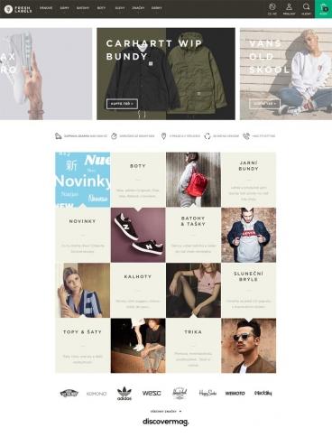 eCommerce website: Freshlabels