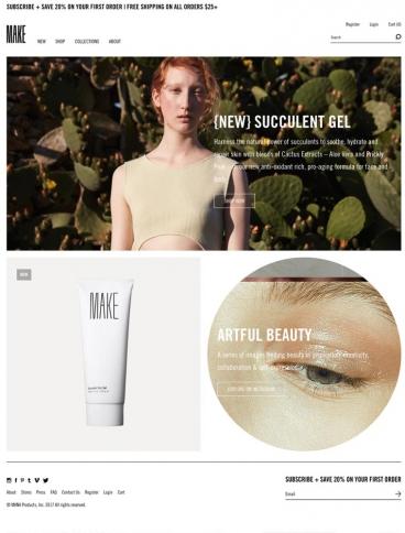 eCommerce website: MAKE