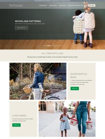 eCommerce website: SoYoung Inc.