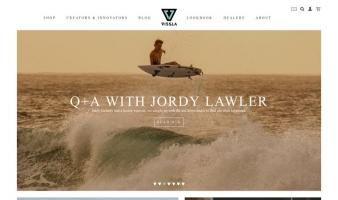 eCommerce website: VISSLA