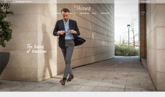 eCommerce website: Velasca