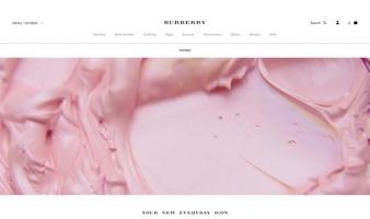 eCommerce website: Burberry