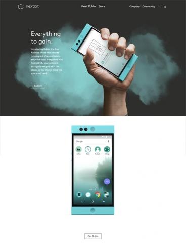 eCommerce website: Nextbit
