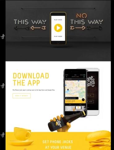 eCommerce website: Phone Jacks