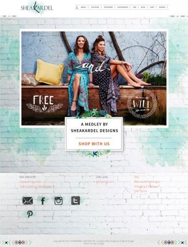 eCommerce website: SheaKardel Designs