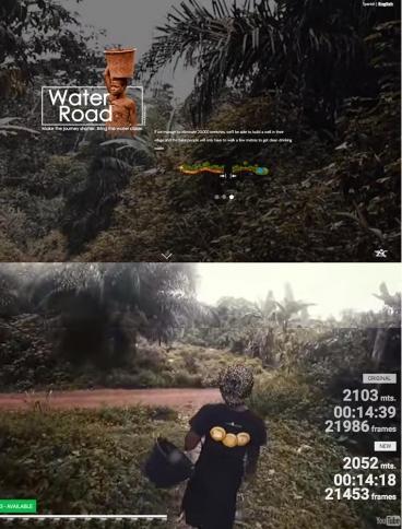 eCommerce website: Water Road