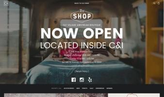 eCommerce website: C&I Studios Shop