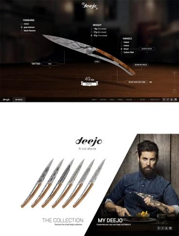 eCommerce website: Deejo