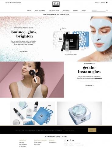 eCommerce website: Erno Laszlo
