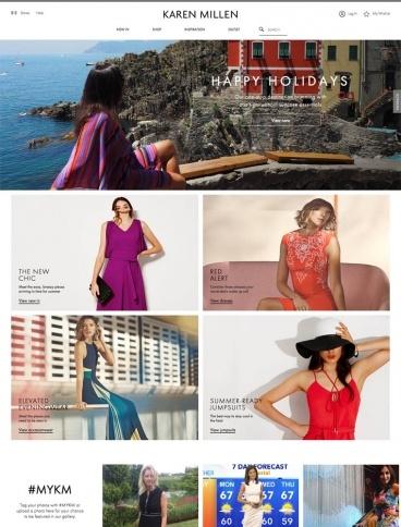 eCommerce website: Karen Millen
